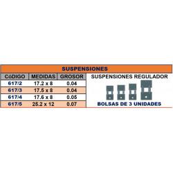 SUSPENSIONES 17.2*8*0.04