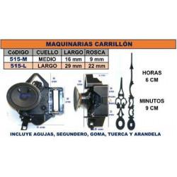 MAQUINA CARRILLON 1 PILA C/...