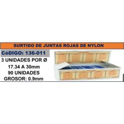 SURTIDO 90 JUNTAS ROJAS DE...